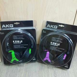 AKG K 518 LE Headphones
