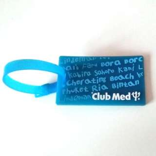 Club Med Luggage Tag