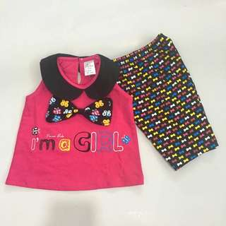 Baby Girl Cute Set Wear