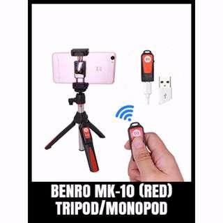 MONOPOD/TRIPOD BENRO MK-10 RED