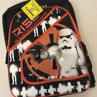 "BN Star Wars Bag 16"" backpack"