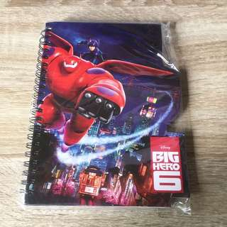 Big hero 6 Notebook