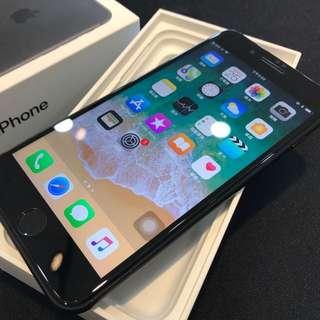 消光黑iPhone7 Plus 128G 附原盒裝 豆腐頭 充電線 耳機轉接線 高雄鳳山可面交