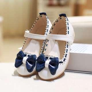 👟Fashion Kids Girls Princess Doug Shoes Casual PU Leather Shoes👟