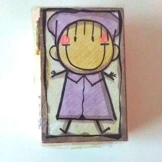 Cute Wooden Box/Holder