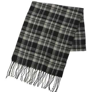 Earth music & ecology checked scarf