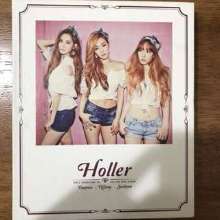 少女時代TTS 第二張迷你專輯[Holler] Girls Generation TTS The Second Mini Album [Holler]