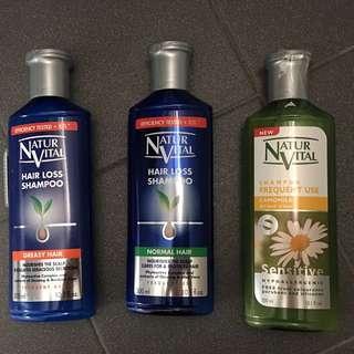 Nuturvital hair loss shampoo
