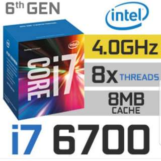 Intel i7-6700 with asus h270f mb