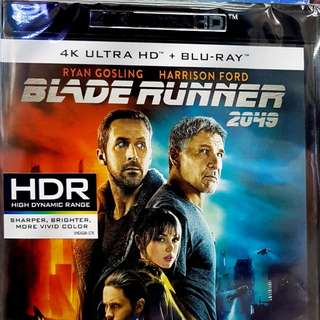 BLADE RUNNER 2049( 4K+BLURAY)