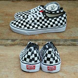 Vans authentic checkerboard black/white