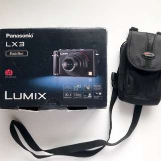 Panasonic Lumix DMC - LX3