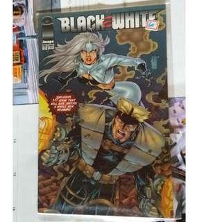Black and White comics