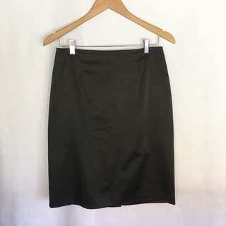Luxe Sz 10 Satin Skirt