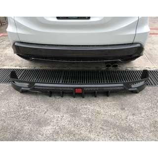 Rear bumper add on for Honda Vezel / HRV