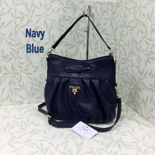 Prada Sling Navy Blue