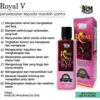ROYAL V - JAMU RATU MALAYA JRM = 250ml