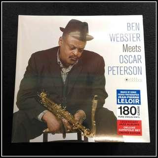 Ben Webster & Oscar Peterson - Ben Webster Meets Oscar Peterson (180g Vinyl LP)