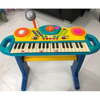 Preloved toy piano (mic not working)