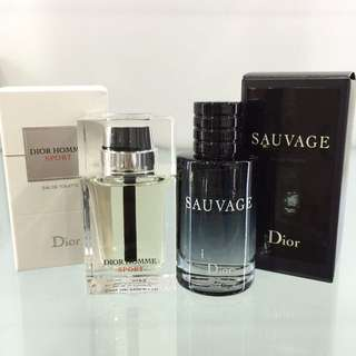 DIOR SAUVAGE /HOMME SPORT EDT 10ML (DAB ON)