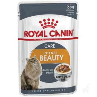 Royal Canin Pouch Intense Beauty In Gravy Cat Food 85g, 12 pouch