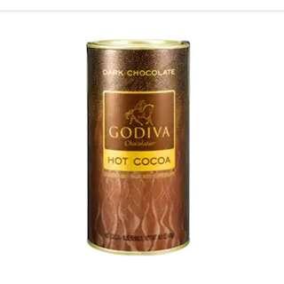 🚚 GODIVA  罐裝純巧克力可可粉