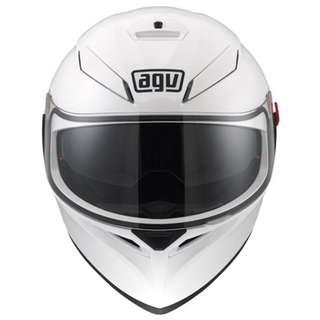 AGV K-3 SV White Full Face Helmet Size S