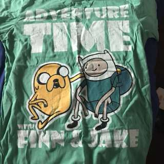 Adventure Time T-shirt in size m