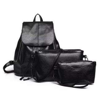 3 in 1 Korean Backpack