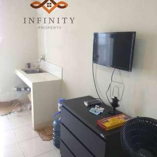 disewakan apartemen studio furnished tower A