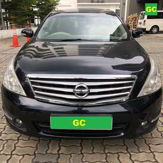 Nissan Teana CHEAPEST RENT FOR Grab/Uber USE