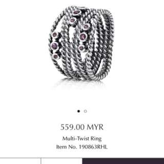 Multi-Twist Ring Pandora Original