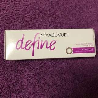 1-Day Acuvue Define (Vivid)