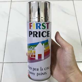 Italy Metallic Chrome Reflective Shine High Gloss Spray for Design and Craft or Vehicle Parts
