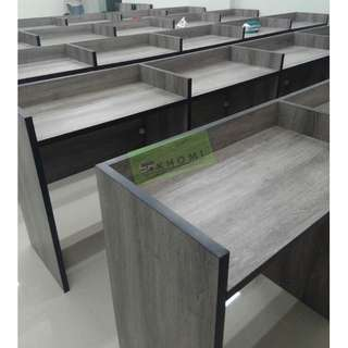 6 SETS OF 5 SEATER COMPUTER TABLES WITH LAMINATED DIVIDERS