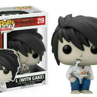 Looking for L with cake Funko Pop