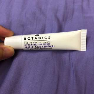 Botanics hydrating eye serum