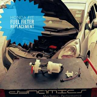 Honda Fit/Jazz: Fuel Filter Replacement