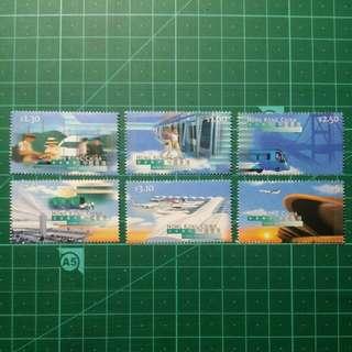 1998 赤鱲角機場啟用紀念 新票一套