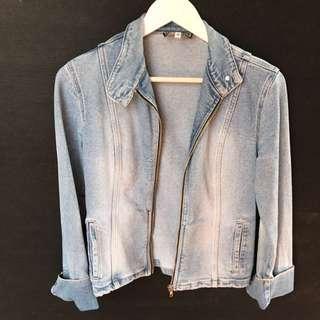 GASP Denim Jacket Size 12