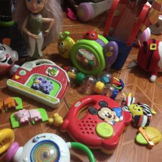 Fisher price,leap frog,vtech