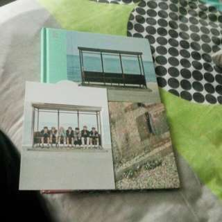 BTS YNWA ALBUM BOTH VER WITH STANDEE