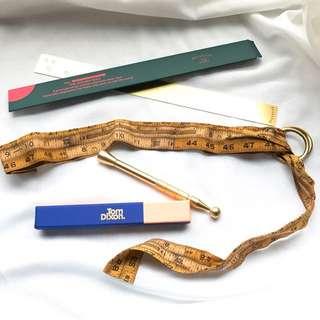 🇯🇵文化屋雜貨店軟尺皮帶腰帶belt