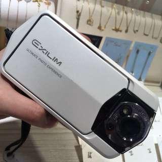 Casio TR150 珍珠白 自拍神器 保養良好 自售 卡西歐 送wifi記憶卡 附原廠盒 拍起來自然 補光燈強