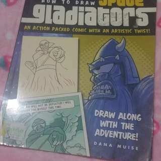 How to draw space gladiators