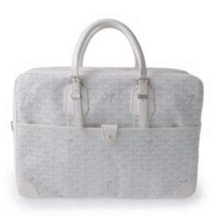 Goyard white large bag