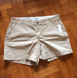 BN Old Navy Khaki Cotton Shorts