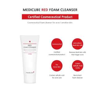 READY STOCKS | Medicube Red Foam Cleanser