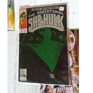 She-Hulk comics