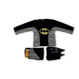 Instock Batman Kids Party Full Set Costume